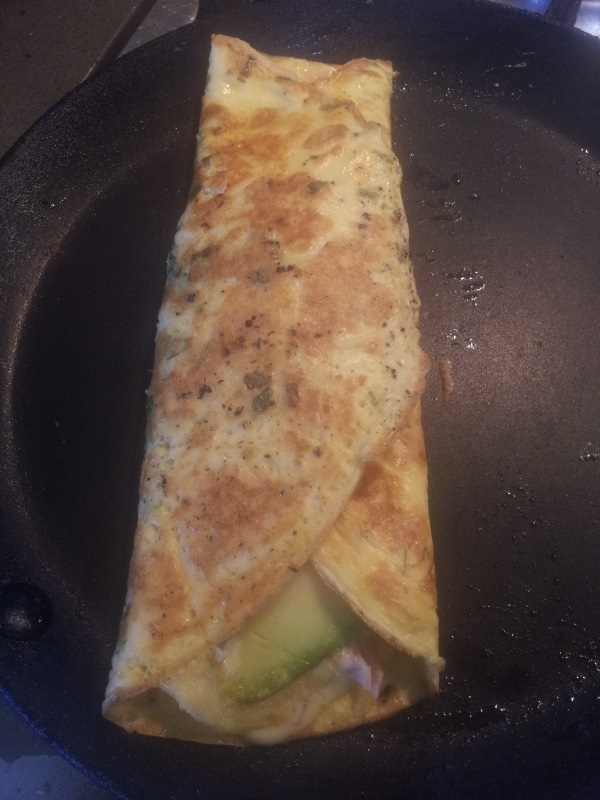Lo-Carb breakfast omelette
