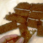 Easy Lo Carb Flaxseed Crackers