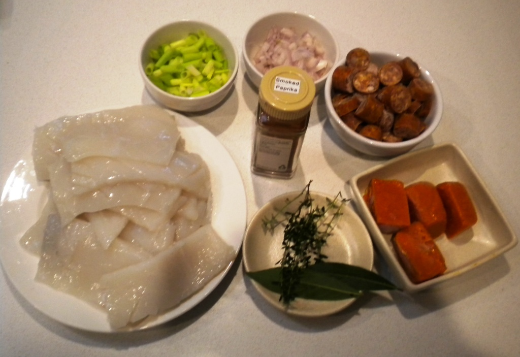 Slow Squid Ingredients
