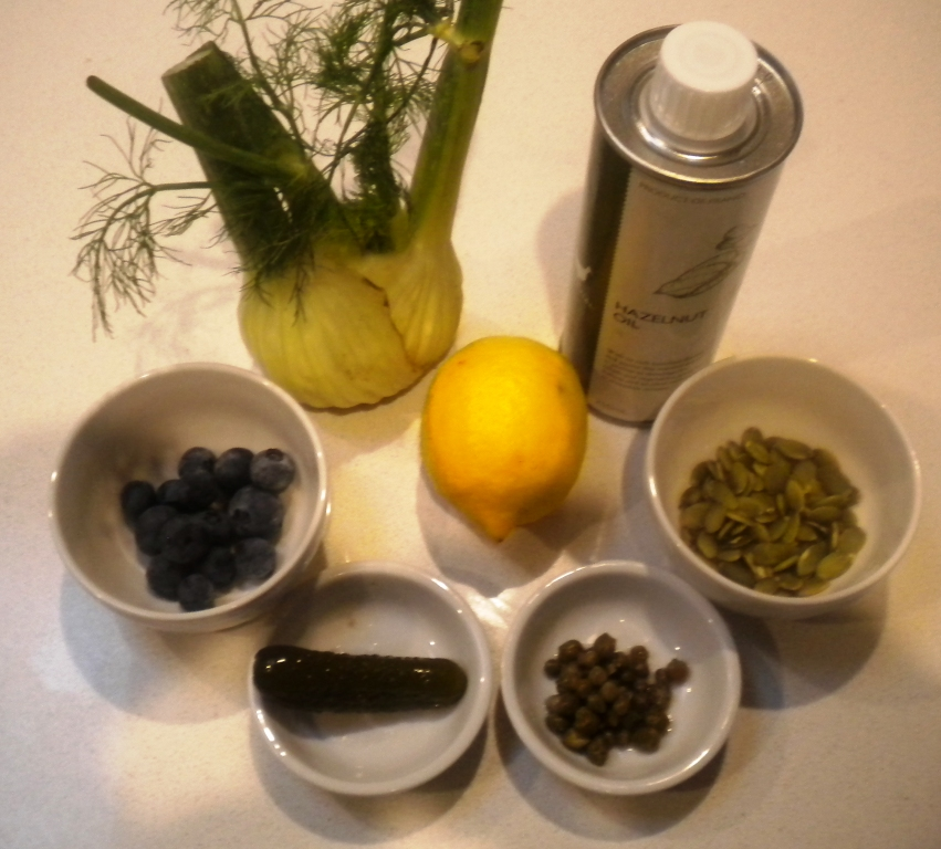 Fennel bulb salad Ingredients