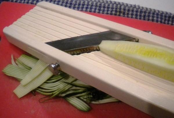 Zucchini Carbonara - Mandoline