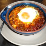 Baked Egg in lamb