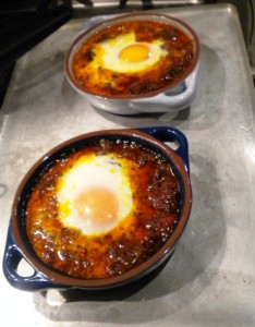 Baked Egg in the Oven