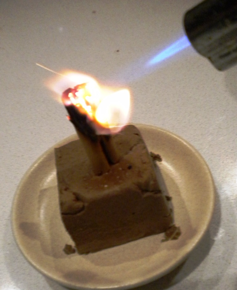 Smoked Chocolate Mousse Ignition