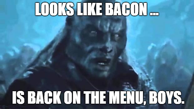 Making Bacon On The Menu