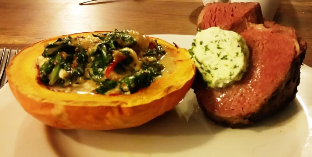 72 hour beef with pumpkin